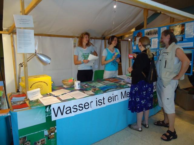 Wassermusik 2010 - Stand mit Publikum